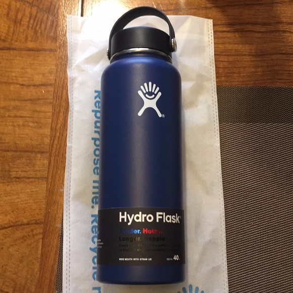 hydro flask Other - New Hydro Flask 40oz big mouth Blue Brand New